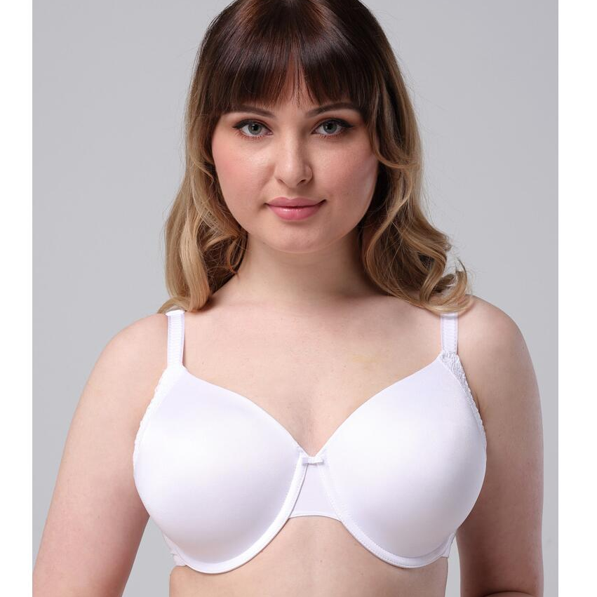 New Solid plus Size Underwire Bra