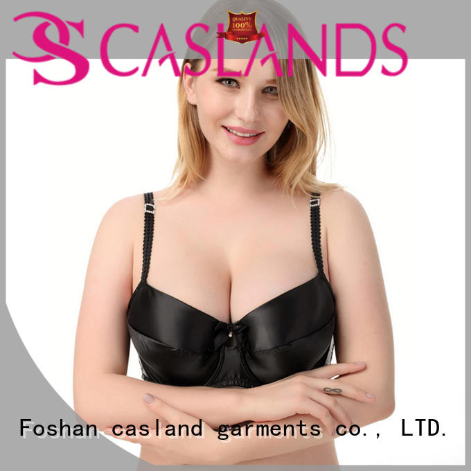 Casland cotton wirefree bras plus size series for ladies