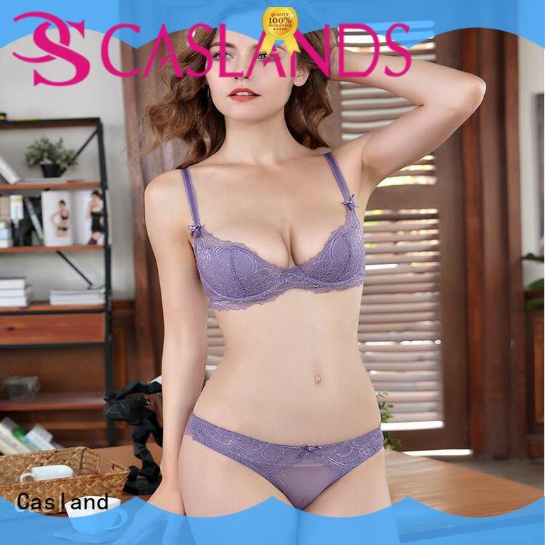comfortable lace bra and panties lady manufacturer for women