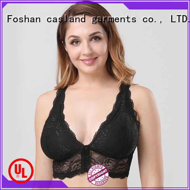 Casland design half cup bra plus size for business for ladies