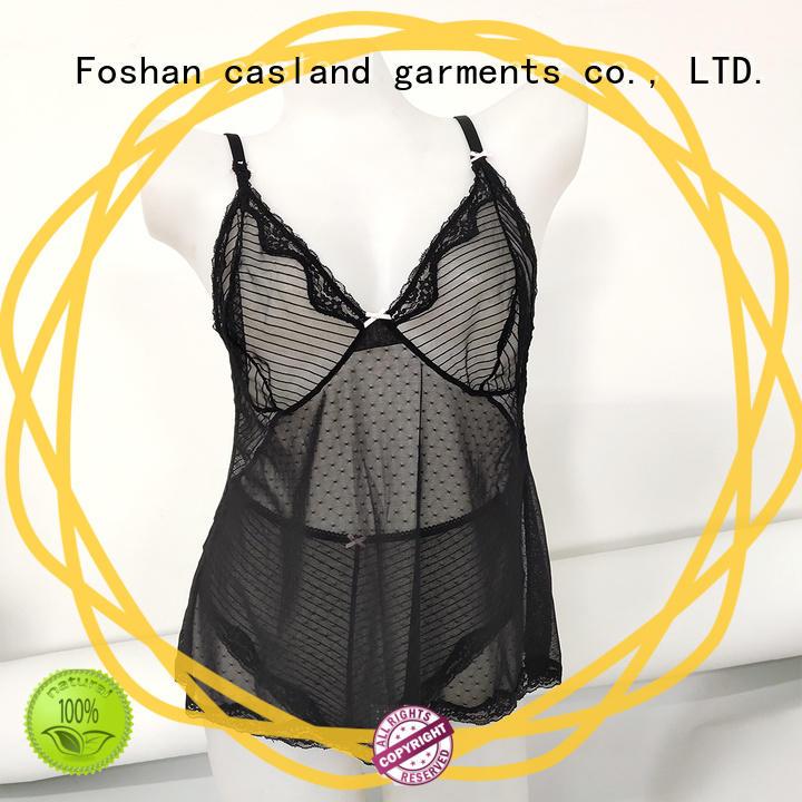 durable fishnet bodysuit babydoll supplier for girls