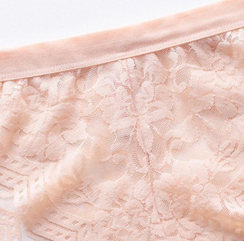 Casland Brand neck sheer lace bra young supplier