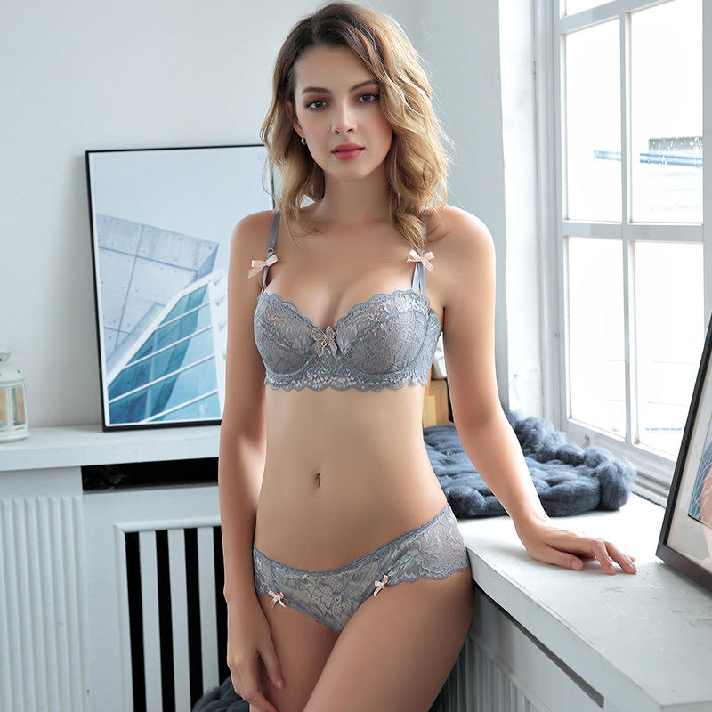 Sexy Transparent Bra And Panty Set