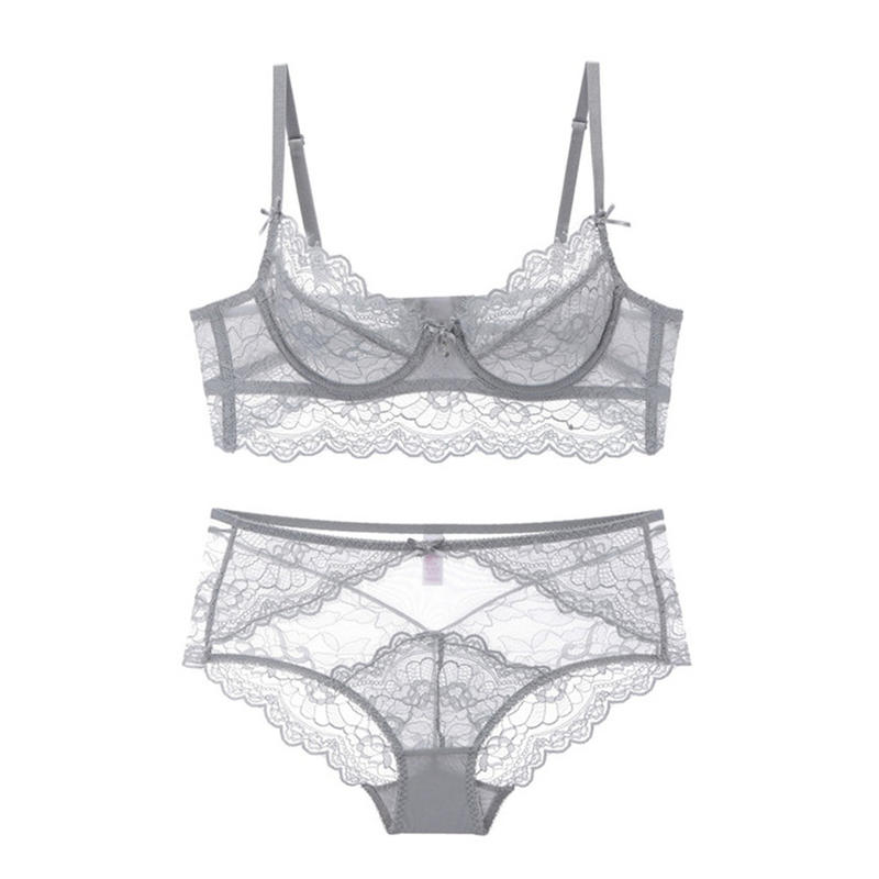 Lace Unpadded Bra And Panty Sets