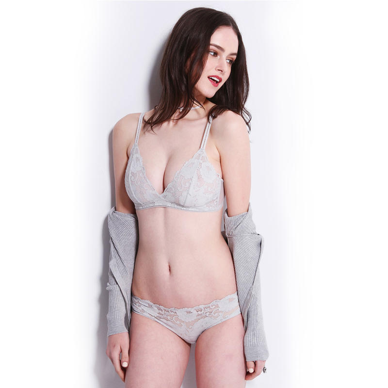 Sexy Fancy Lace Brassiere Panty Set