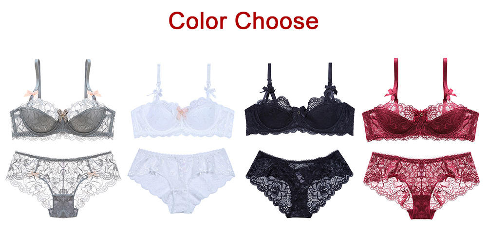 Top sheer bra panties Suppliers for women