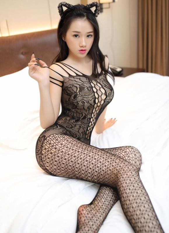 Wholesale Sexy Fish Net Lingerie Bodysuit
