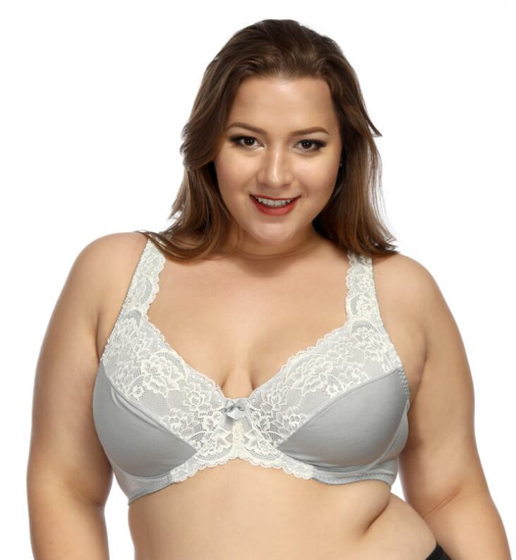 European Style Plus size Bra Without Padded