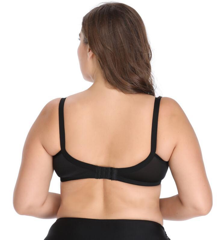 Shockproof Padless Breathable Comfortable Big Bra