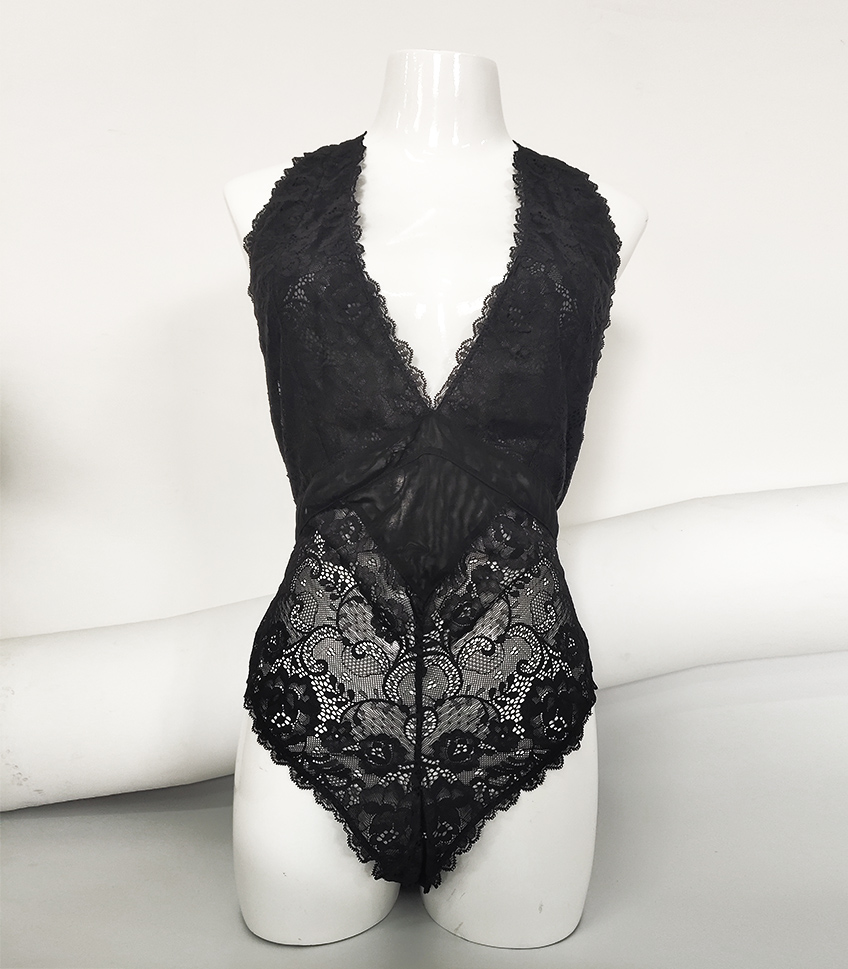 Casland-Wholesale sexy lace bodysuits women