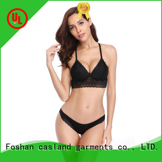 Casland high quality sexy bra and panty new design manufacturer for women