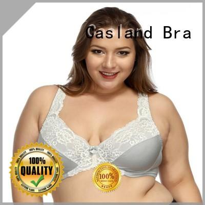 hot sale plus size bras sale embroidery supplier for women