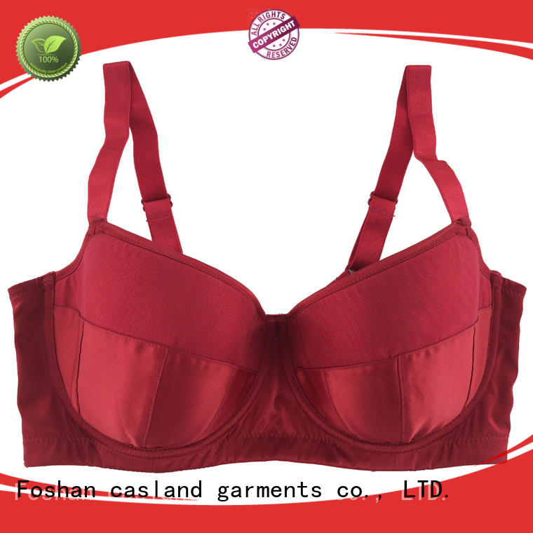 Casland soft wirefree bras plus size series for women