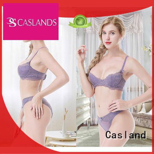 Casland Brand mesh sheer lace bra brassiere supplier