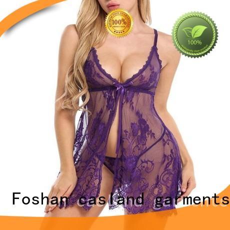 Casland open sleepwear online supplier for girls