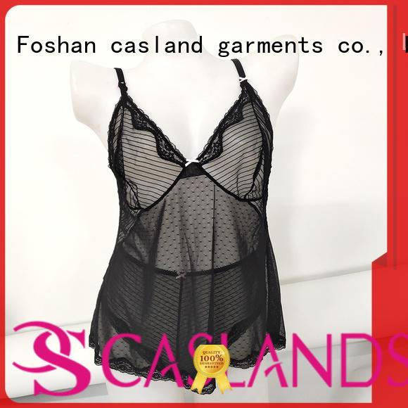 Casland babydoll teddy lingerie Supply for women