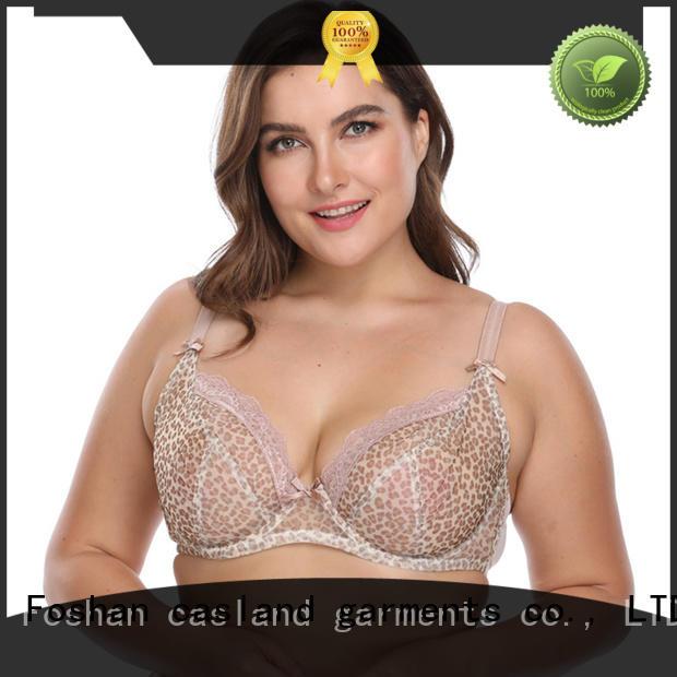 Casland unlined half cup bra plus size wholesale for women