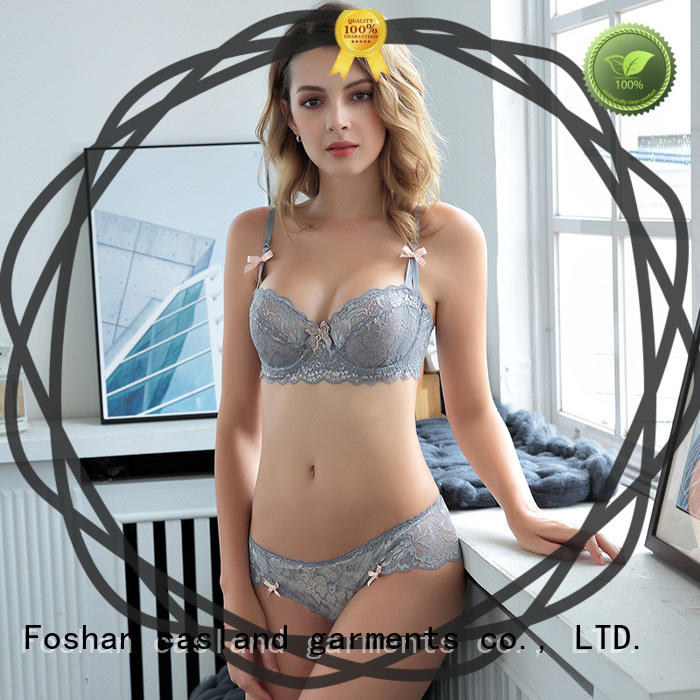 Casland pad sexy bra and panty new design series for girls