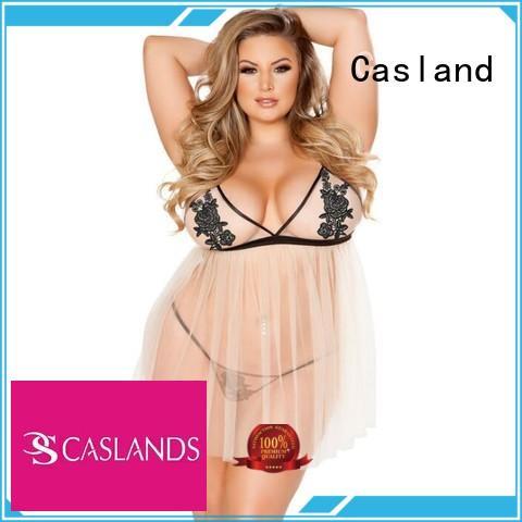 Wholesale transparent see through lingerie sheer Casland Brand