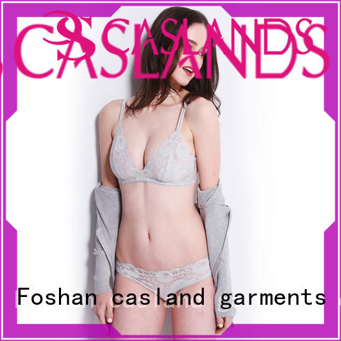 Casland high quality cute bra and panty sets manufacturer for women