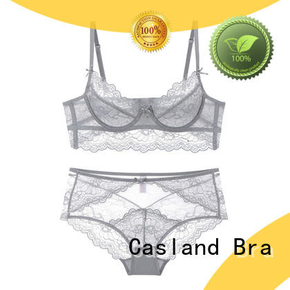 high quality sheer bra underwire series for ladies