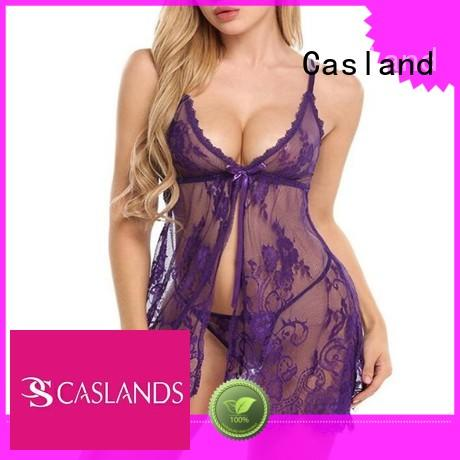 teddy fish babydoll see through lingerie Casland manufacture