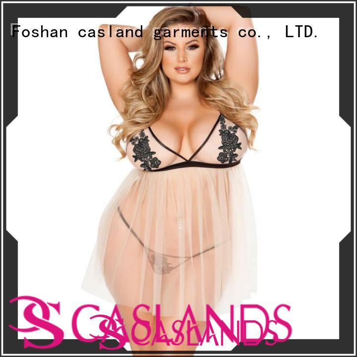 Casland ladies lace sleepwear series for girls