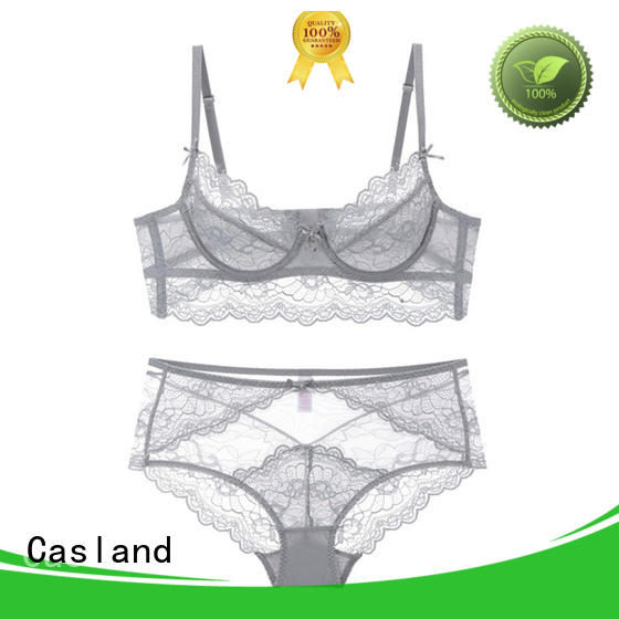 Casland high quality demi push up bra wholesale for women