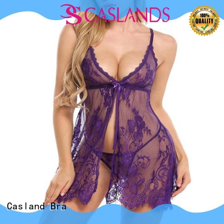 Casland net babydoll lingerie supplier for ladies