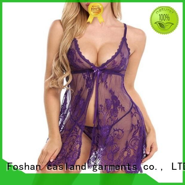 Casland women lace sleepwear manufacturer for ladies