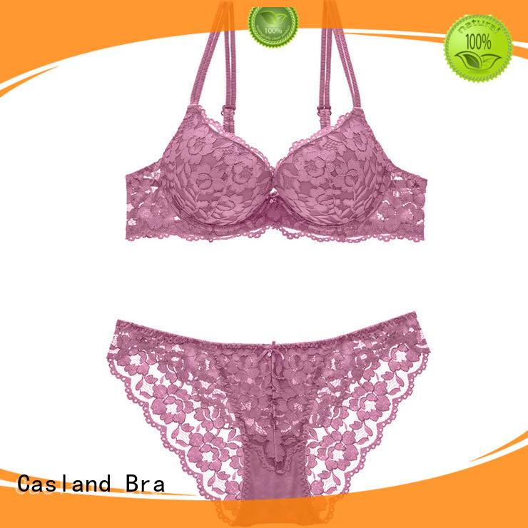 Casland Brand penty brassiere style demi bralette