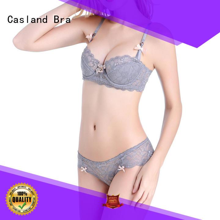 Casland comfortable bra and panty set online manufacturer for ladies