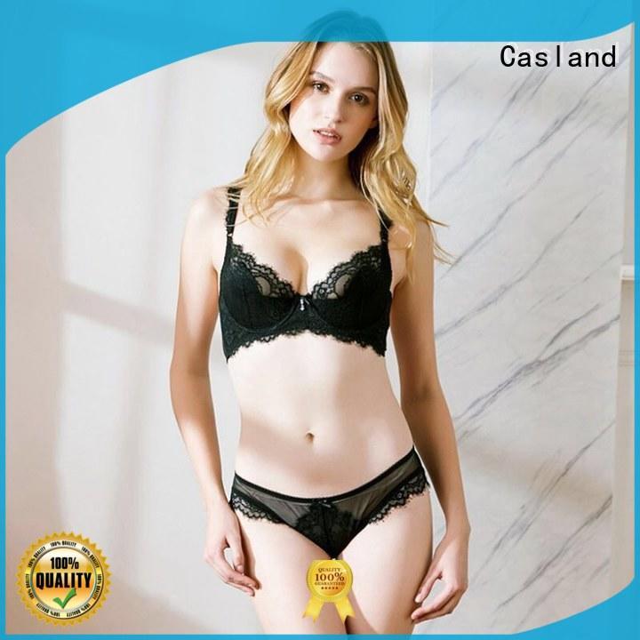 Casland floral hot bra set supplier for women