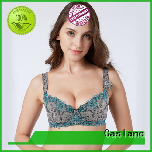 new style plus size comfort bra leopard series for girls