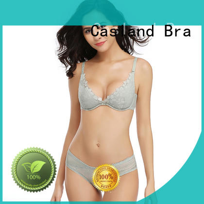 Casland padded lace underwire bra series for women