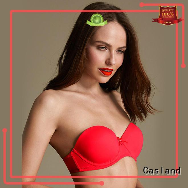 closure print fashion plus size bras seamless Casland Brand