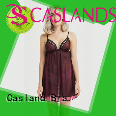 Casland size sexy sleep dress manufacturer for girls