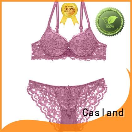 Casland unpadded sexy bra design Supply for girls