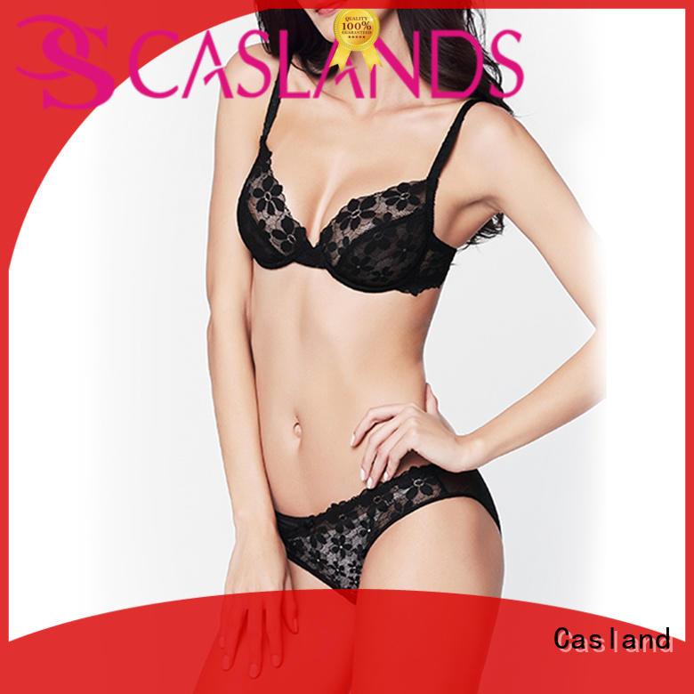Casland high quality lace bra set manufacturer for women
