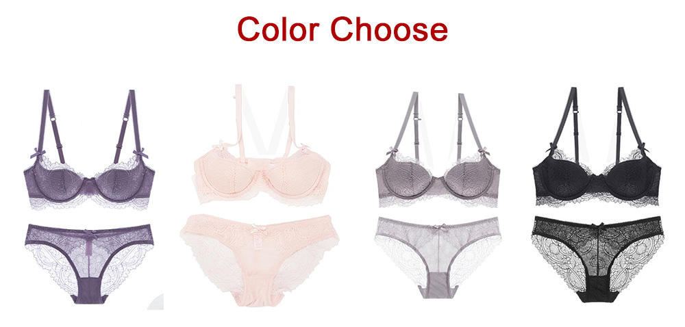 Casland-Best Demi Lace Bra And Panty Women Sexy Manufacture - Casland-2