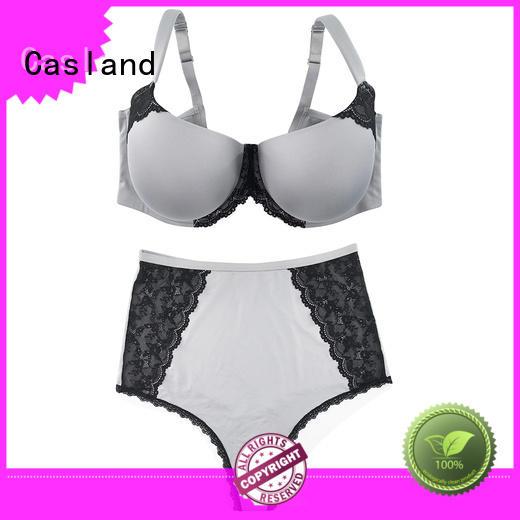 Casland durable plus size no wire bras supplier for women
