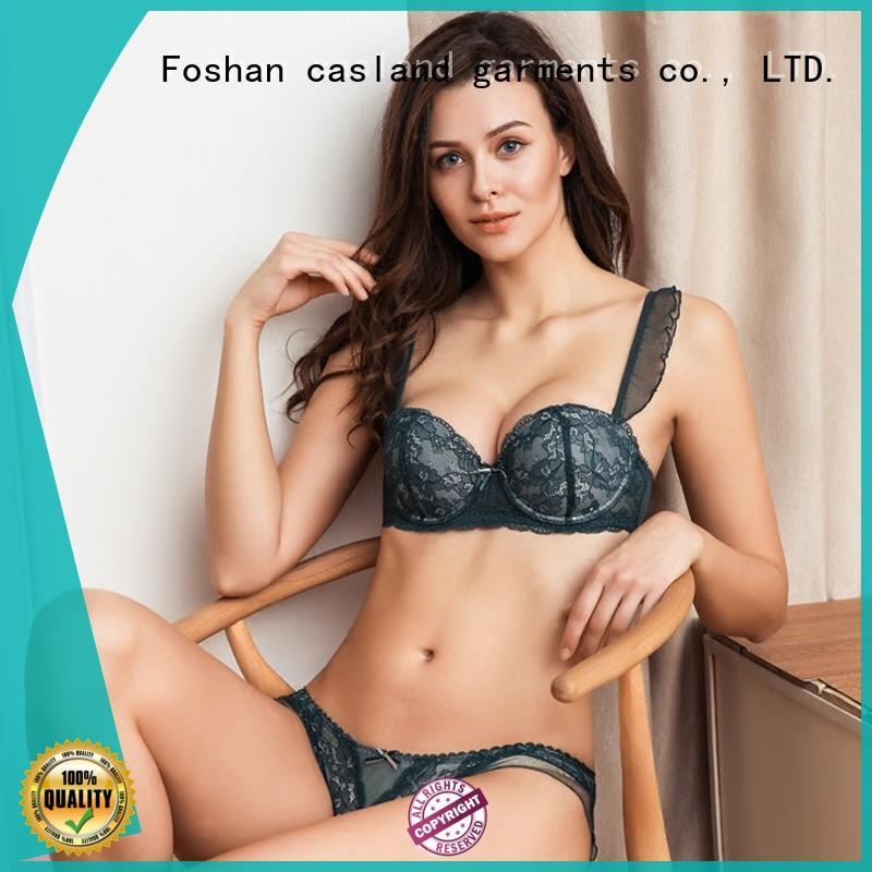 Casland longline bra and panty set online manufacturer for women