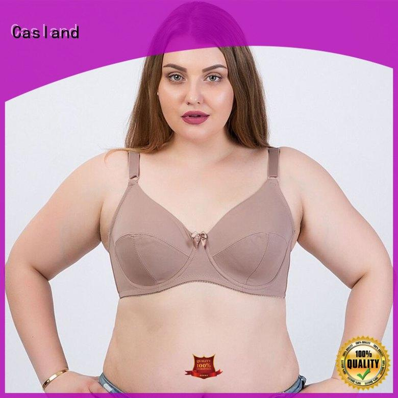 Casland smoothing wide back bras plus size supplier for girls