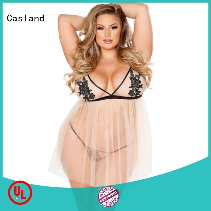 Casland chemise babydoll lingerie manufacturer for ladies
