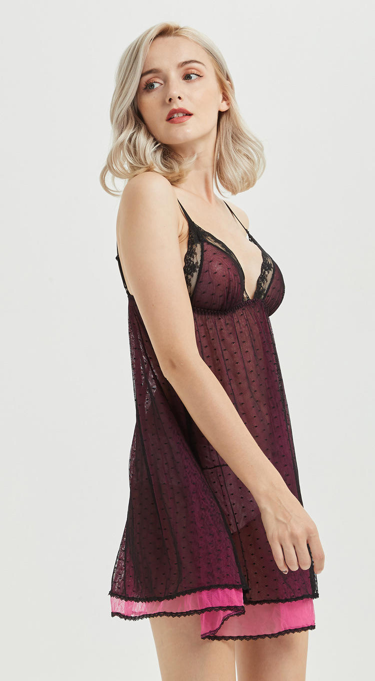 professional sexy slip night wholesale for women-1