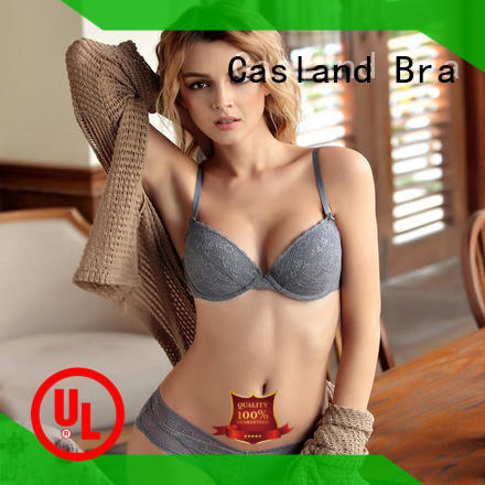 Casland young non cup bra manufacturer for girls