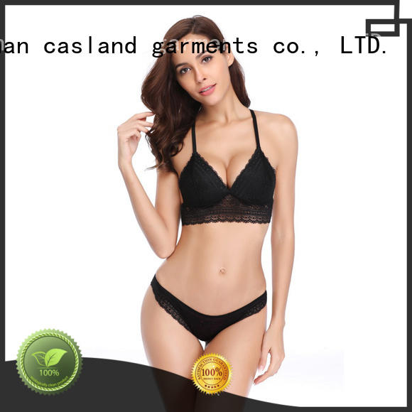 Casland professional hot bra set supplier for girls