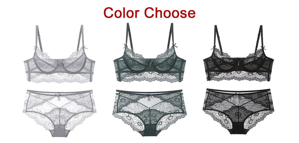 high quality sheer bra underwire series for ladies-1