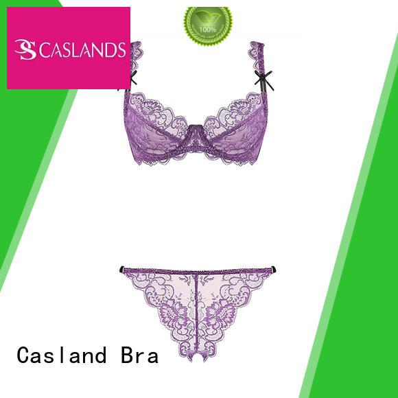 Hot brassiere sheer lace bra through Casland Brand