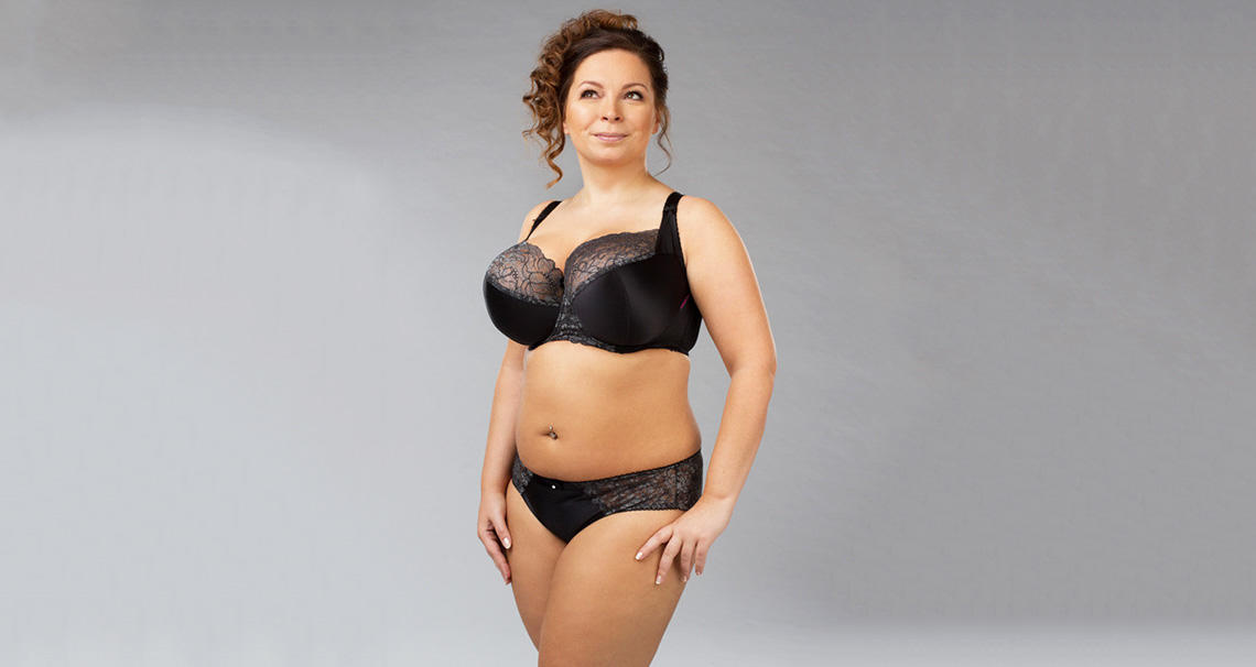 Casland-Manufacturer Of Half Cup Plus Size Bra Cs1002